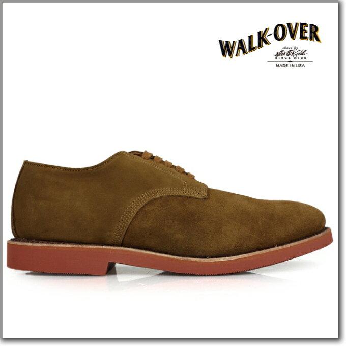 ウォークオーバー WALK-OVER ABRAM BURNT SUGAR 04916ダービー WALKOVER 04916