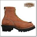 ウェスコ Wesco Custom Jobmaster REDWOOD ROUGHOUT 108100 Leather Height 8inch Vibram ...