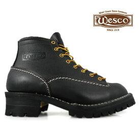 【ポイント10倍 9月24日11:59まで】ウェスコ ジョブマスター オールブラック Wesco Jobmaster All Black BK106100 6インチ