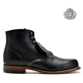 【赤字覚悟】ウルヴァリン 1000マイルブーツ ブラック 黒 WOLVERINE 1000MILE BOOTS W05300 BLACK ワークブーツ
