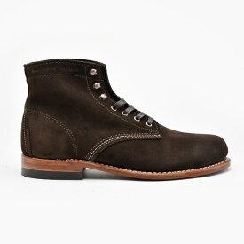 ウルヴァリン 1000マイルブーツ WOLVERINE W40093 ブラウン スエード メンズ ブーツ 1000MILE BOOT Brown Suede MADE IN USA【送料無料】