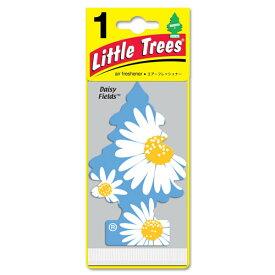 芳香剤 カーアクセサリー リトルツリー エアフレッシュナー デイジーフィールズ -17347- アメリカ雑貨 アメリカン雑貨