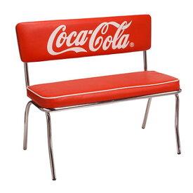 COCA-COLA BRAND コカコーラブランド ベンチシート「Coke Bench Seat」 PJ-120C チェア イス 椅子 インテリア 家具 アメリカ雑貨 アメリカン雑貨