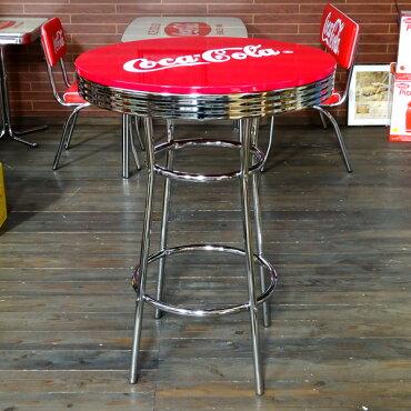COCA-COLABRANDコカコーラブランドテーブル「CokeHI-Table」PJ-200T(インテリア、家具、コーラ雑貨、アメリカン雑貨)