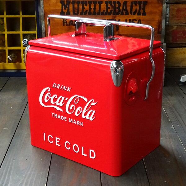 COCA-COLA BRAND コカコーラブランド レトロピクニックストレージボックス (レッド ) クーラーボックス アウトドア コーク アメリカ雑貨 アメリカン雑貨