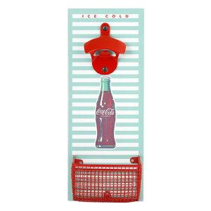 栓抜き コカ・コーラ ボトルオープナー アンド キャップキャッチャー Coca-Cola CC345 インテリア アメリカ雑貨 アメリカン雑貨