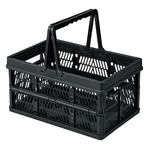 折りたたみ コンテナ フォールディングボックス ブラック LFS-31BK 収納ボックス おもちゃ箱 子供部屋 アメリカン雑貨