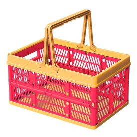 折りたたみ コンテナ フォールディングボックス ピンク SSB-31PK 収納ボックス おもちゃ箱 子供部屋 アメリカン雑貨