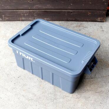 収納ボックスコンテナTHORソーラージトートコンテナーフタ付き53LグレースクエアTRUSTアメリカ雑貨アメリカン雑貨