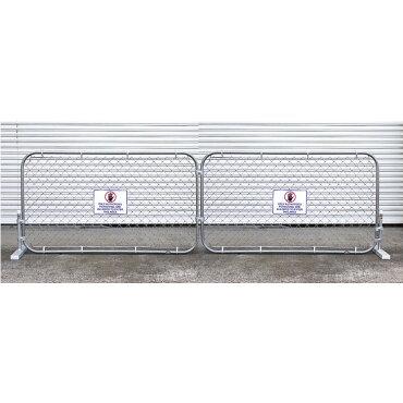 カリフォルニアフェンススタンドセットLサイズ2枚セット(フェンスカラー:ガルバナイズド)外壁DIYガレージングエクステリアアメリカ雑貨アメリカン雑貨