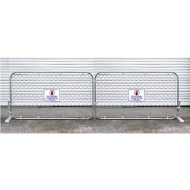 カリフォルニアフェンス スタンドセットLサイズ 2枚セット(フェンスカラー:ガルバナイズド ) 外壁 DIY ガレージング エクステリア アメリカ雑貨 アメリカン雑貨