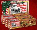 Claxton Fruit Cake クラクストン フルーツケーキ 454g×3本入り<クリスマス限定入荷商品> アメリカ雑貨 アメリカン雑貨