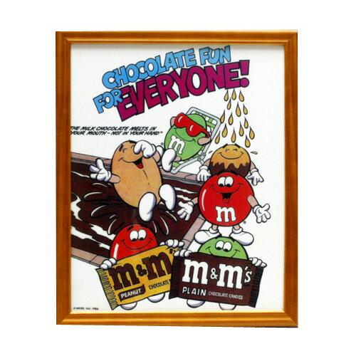 ピクチャーフレーム m&m's エムアンドエムズ CB-009 アメリカ雑貨 アメリカン雑貨