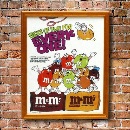 ピクチャーフレーム m&m's エムアンドエムズ CB-008 アメリカ雑貨 アメリカン雑貨