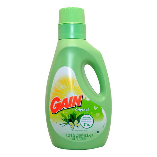 GAIN ゲイン柔軟剤 (オリジナル )39回分 1890ml 64FL OZ アメリカ雑貨 アメリカン雑貨