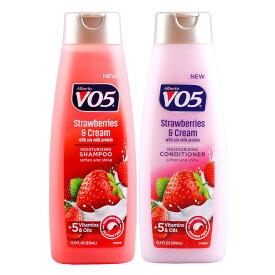 VO5 シャンプー&コンディショナー ストロベリー&クリーム 370ml 2本セット販売 アメリカ製 アメリカン雑貨