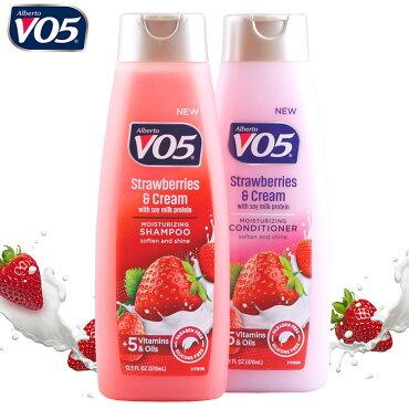 VO5シャンプー&コンディショナーストロベリー&クリーム370ml2本セット販売アメリカ製アメリカン雑貨