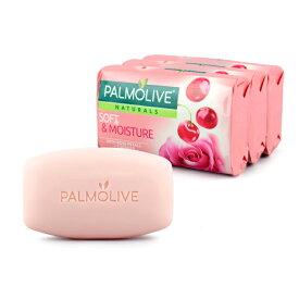 Palmolive パルモリーブ ナチュラルズ石鹸3個パック(ローズペタルズ・プラス・チェリー) 化粧石鹸 固形石鹸 ハンドソープ アメリカ雑貨