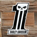 エンボスメタルサイン 「ハーレーダビッドソン H-D Dark Custom #1」 Harley-Davidson 立体デザイン 3D ブリキ看板 ア…