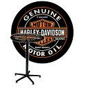 家具 テーブル ハーレーダビッドソン オイルカン ラウンド カフェテーブル HDL-12316 HARLEY-DAVIDSON アメリカ雑貨 アメリカン雑貨