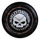 照明 壁掛け ハーレーダビッドソン スカル ネオンクロック HDL-16639 HARLEY-DAVIDSON ギフト プレゼント アメリカ雑貨