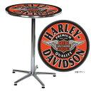 テーブル ハーレーダビッドソン ウイングド B&S カフェテーブル HDL-12328 HARLEY-DAVIDSON アメリカ雑貨 アメリカン雑貨