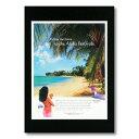 ハワイアンポスター エアラインシリーズ <Aloha Festival ハワイアン航空> A-23 アメリカ雑貨 アメリカン雑貨