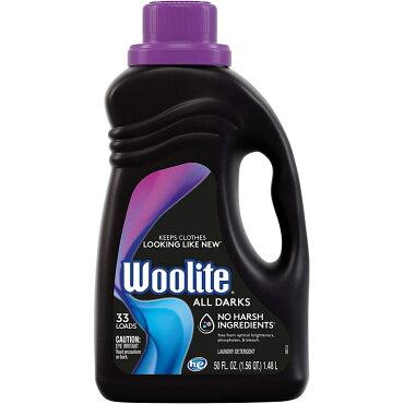 Wooliteウーライト洗濯用洗剤液体ダーク(濃い色の衣類用洗剤)50oz1.48Lおしゃれ着洗いダークカラー用洗濯洗剤日用品アメリカ製