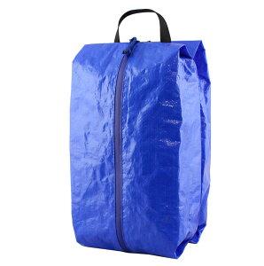 トラベルポーチ Lサイズ ブルー 大きめ おしゃれ パッキング アウトドア 旅行 インストゥルメンタル TRAVEL POUCH