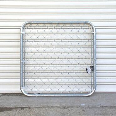 ダルトンガルバナイズドフェンス縦90×横90cmスチール製DULTONModelD19-0040/9090アメリカンデザイン屋外・屋内用DIYエクステリア間仕切りアメリカンインテリアスチール製