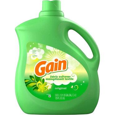 Gainゲイン柔軟剤濃縮タイプオリジナル129oz/3830ml(約150回分)日用品アメリカ雑貨アメリカン雑貨