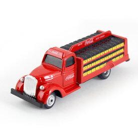 ミニカー Coca-Cola コカコーラ ダイキャストミニカー 1938 Bottle Truck 1/87 PJ-MC02 高さ2.8×幅10.5x奥行き2.6cm おもちゃ車 トラック クラシックカー レトロ アメリカ雑貨