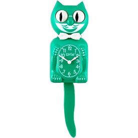 壁掛け時計 Kit-Cat Klock キットキャットクロック グリーンビューティ ウォールクロック ネコ インテリア アメリカン雑貨