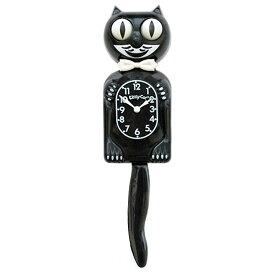 """壁掛け 時計 Kit-Cat Klock キットキャットクロック キティキャット(クラシックブラック) 12.75"""" (31.87cm) インテリア ネコ アメリカン雑貨"""