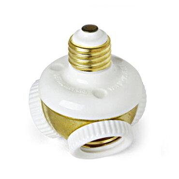 3灯ソケットレトロおしゃれスリーソケットプラグクラスター口金サイズE26(電球は別売り)ThreeSocketPlugClusterインテリア照明器具アメリカ雑貨アメリカン雑貨