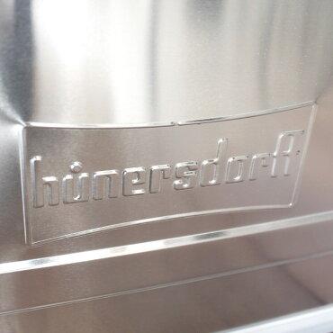 収納用コンテナボックスアルミニウムプロフィーボックス48Lヒューナースドルフ社アウトドアインテリアおしゃれドイツ製