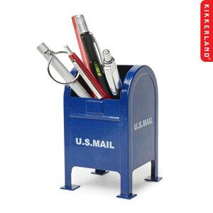 ペン立て おしゃれ キッカーランド メールボックス ペンホルダー Mailbox Pen Holder KIKKERLAND ステーショナリー インテリア アメリカン雑貨