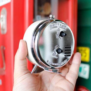 目覚まし時計ダルトンアラームクロックModel100-053QアイボリーDULTON置き時計インテリアアメリカ雑貨アメリカン雑貨