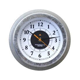 壁掛け時計 丸型 ダルトン ウォールクロック ノースロップ G-22 WD DULTON K725-928WD インダストリアル インテリア リビング アメリカ雑貨 アメリカン雑貨