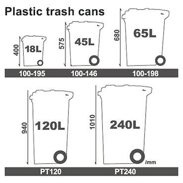 ごみ箱ダルトンプラスチックトラッシュカン18Lグリーン100-195GNDULTONダストボックスふた付き収納アメリカ雑貨アメリカン雑貨
