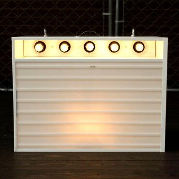エレクトリックサインボードw/ライトSサイズ(ホワイト)【メニューボード、店舗看板、カフェインテリア、アメリカン雑貨】