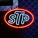 アメリカンネオンサイン STP H32×W45cm 店舗装飾 ガレージ ネオン管 ネオン照明 インテリア アメリカ雑貨