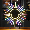 アメリカンネオンサイン SUN サン 縦56×横51cm 店舗装飾 インテリア レストラン メキシカン アメリカ雑貨