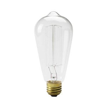 エジソンバルブシグネイチャー(L)60WE26/EdisonBulb/レトロランプ/インテリア電球/間接照明/アメリカン雑貨/