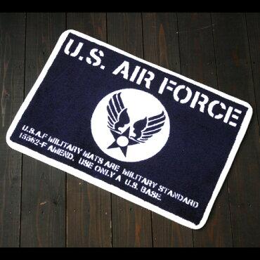 アメリカンフロアマット『U.S.AIRFORCE/USエアフォース』