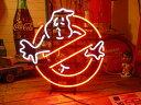 ネオンサイン GOHST BUSTERS ネオン管 照明 店舗装飾 インテリア ガレージング アメリカ雑貨 アメリカン雑貨