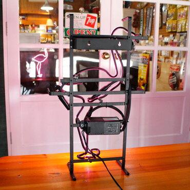 アメリカンネオンサインPINKFLAMINGO縦55×横34cmフラミンゴガレージインテリアネオン管電飾店舗装飾アメリカ雑貨アメリカン雑貨
