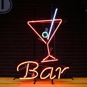 Penny Japan ネオンサイン Cocktail & Bar NEON-1042 H64×W48×D14cm(デザイン部:H58×W42cm) 点滅機能 ネオン 看板 店舗装飾 アメ…