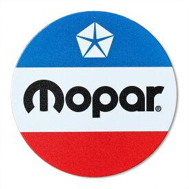 看板 ラウンドメタルサイン 「Mopar」 #268062 直径30.5cm モパー ブリキ看板 店舗装飾 壁面ディスプレー アメリカ雑貨
