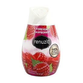 芳香剤 置き型 Renuzit リナジット ロングラスト (フォーエバーラズベリー)198g アメリカ雑貨 アメリカン雑貨